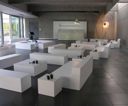 Basic Lounge Set 100 personen