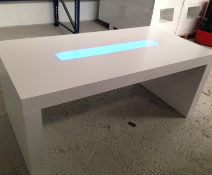 Low U Table // LED | Fabula Productions