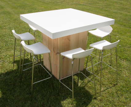 Woodland Square Table White