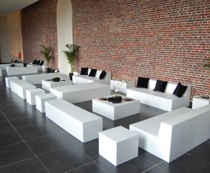 Basic Lounge Set 200 personen