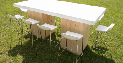 Woodland XL Table White