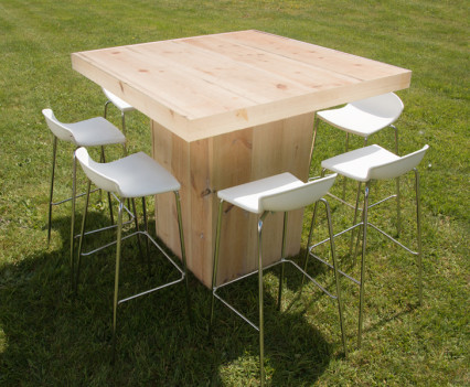 Woodland Square Table Wood